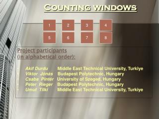 Counting windows