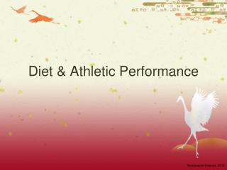 Diet & Athletic Performance