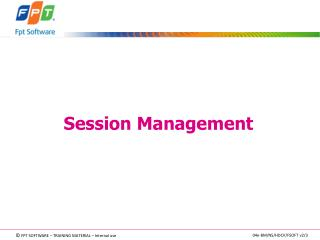 Session  Management