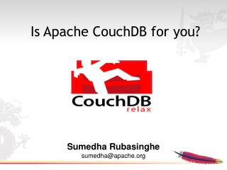 Is Apache CouchDB for you?