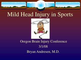 Mild Head Injury in Sports