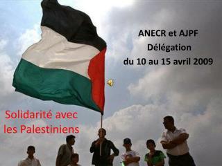 Solidarité avec les Palestiniens