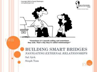 BUILDING SMART BRIDGES NAVIGATING EXTERNAL RELATIONSHIPS