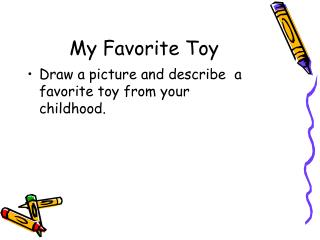 describe your favourite toy