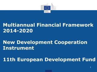 Major objectives of EU external action Promote EU values
