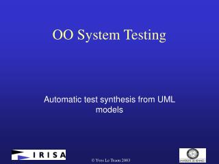 OO System Testing