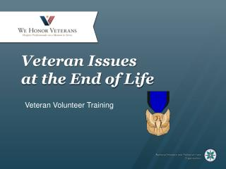 Veteran Issues  at the  End of Life
