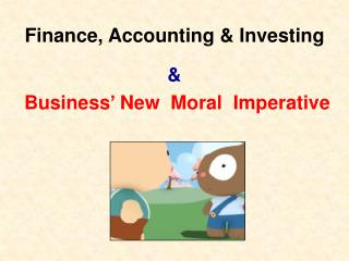 Finance, Accounting & Investing