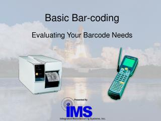 Basic Bar-coding