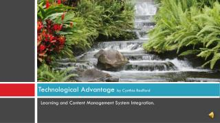 Technological Advantage by Cynthia Radford