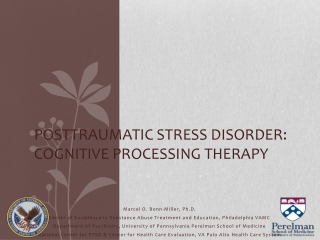 Cognitive theories of post traumatic stress disorder