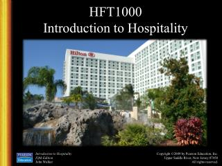 HFT1000 Introduction to Hospitality