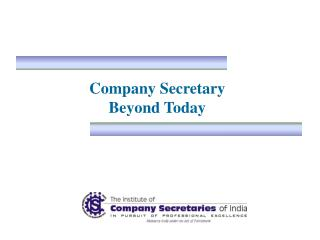 Company Secretary  Beyond Today