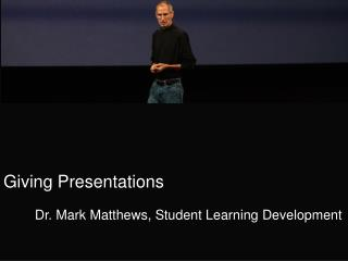 Giving Presentations