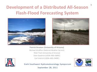 Development of a Distributed All-Season Flash-Flood Forecasting  System