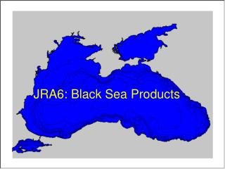 JRA6: Black Sea Products