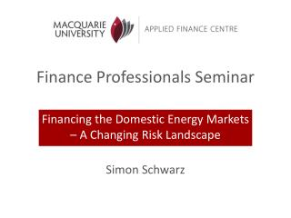 Finance Professionals Seminar
