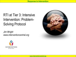 Tier 3: Intensive Intervention: Problem-Solving Protocol