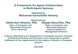 A Framework for Agent Collaboration in Multi-Agent Systems