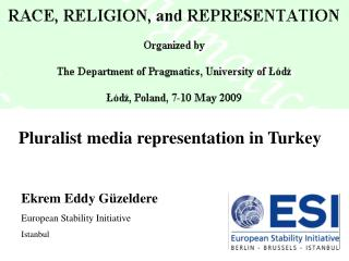 Pluralist media representation in Turkey