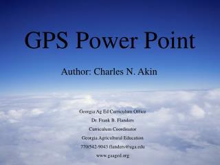 GPS Power Point