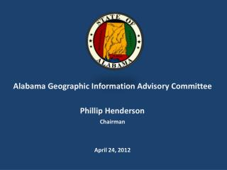 Alabama Geographic Information Advisory Committee