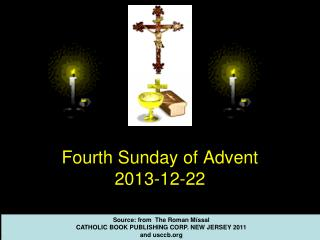 Fourth Sunday  of Advent 2013-12-22