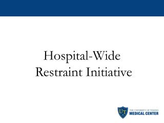 Hospital-Wide  Restraint Initiative