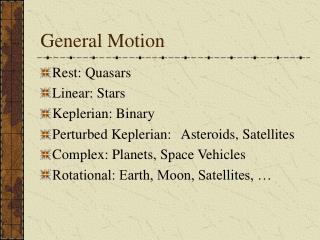 General Motion