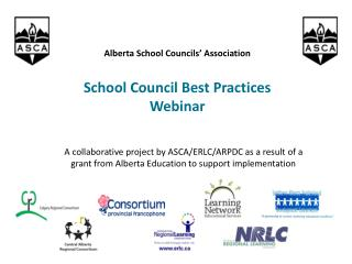 Alberta School Councils' Association School Council Best Practices Webinar