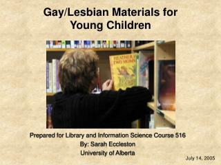Gay/Lesbian Materials for  Young Children