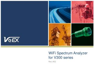 WiFi Spectrum Analyzer for V300 series