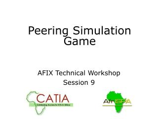 Peering Simulation Game