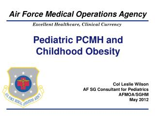 Pediatric PCMH and Childhood Obesity