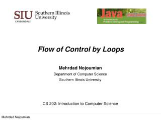 Flow of  Control by  Loops