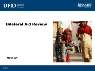 Bilateral Aid Review