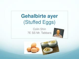 Gehalbirte ayer (Stuffed Eggs)