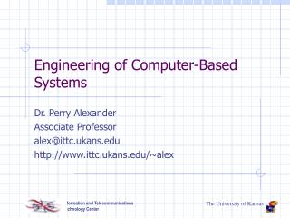Engineering of Computer-Based Systems