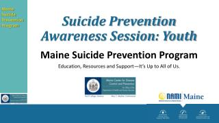 Suicide Prevention Awareness Session: Youth