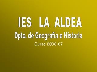 Curso 2006-07