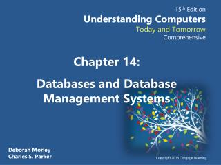 Chapter 14: Databases and Database Management Systems