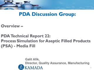 PDA Discussion Group: