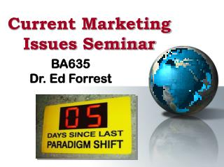 Current Marketing  Issues Seminar