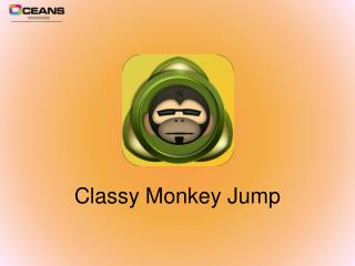 Free Classy Monkey Game-Jumping Adventure