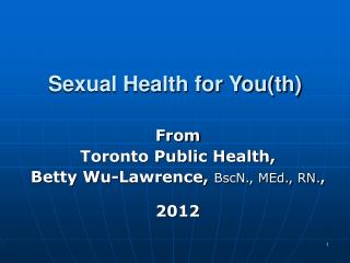 Sexual Health for You(th)
