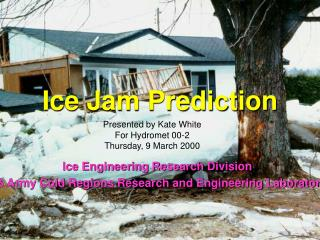 Ice Jam Prediction