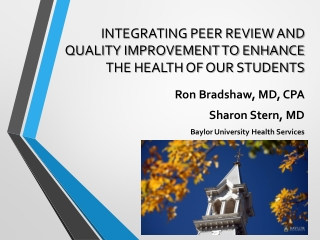 Integrating Quality Improvement into  Health IT:  Pressure Ulcer Prevention