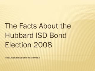 Hubbard Independent School District