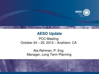 AESO  Update