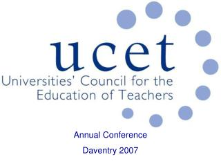Annual Conference Daventry 2007